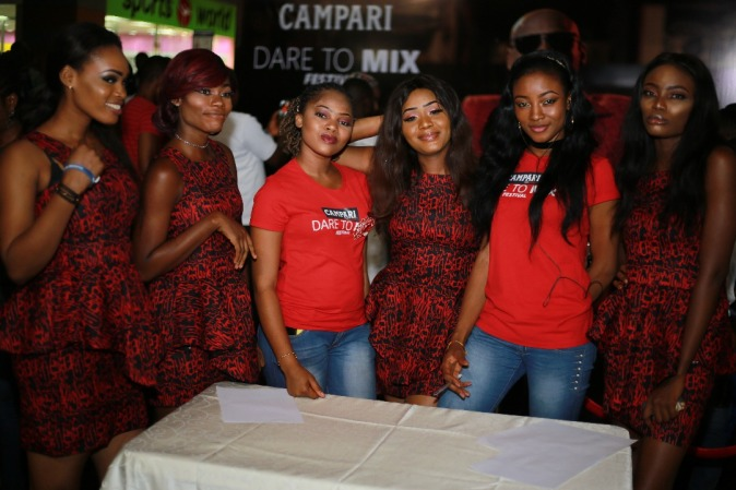 2baba leads the thrill at Campari Dare to Mix Festival
