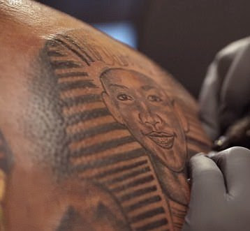 Trayvon Martin?s dad gets a special tattoo of his murdered son