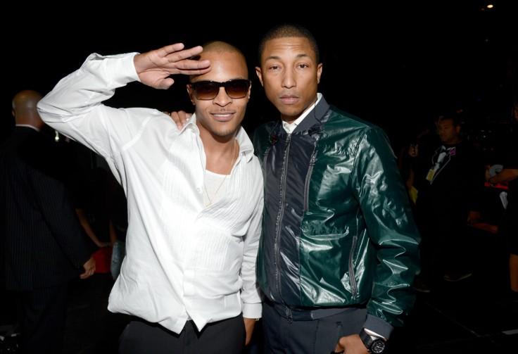 Image result for T.I. Salutes Pharrell